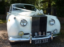 Classic Rolls Royce Wedding Car in Portsmouth
